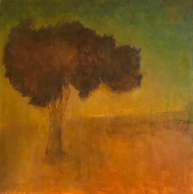 "Christine Brenner | Morning Haze | Oil on Canvas | 23.5"" X 23.5"" | $3,200.00"