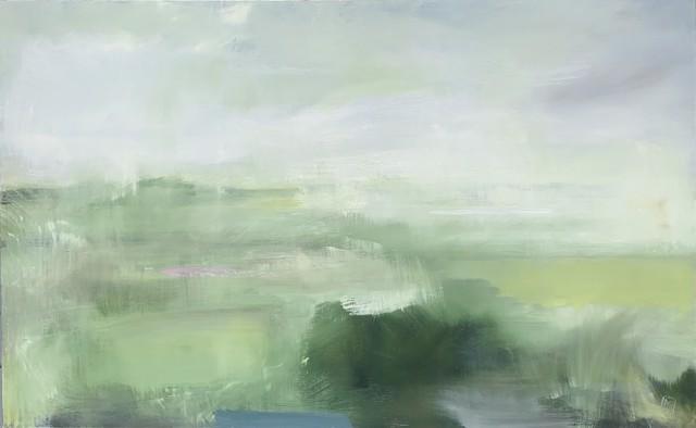 "Ingunn Milla Joergensen | My Meadow | Oil on Canvas | 30"" X 48"" | $4,200.00"