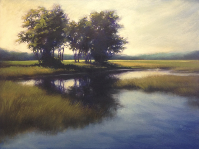 "Margaret Gerding | New Season | Oil on Panel | 36"" X 48"" 
