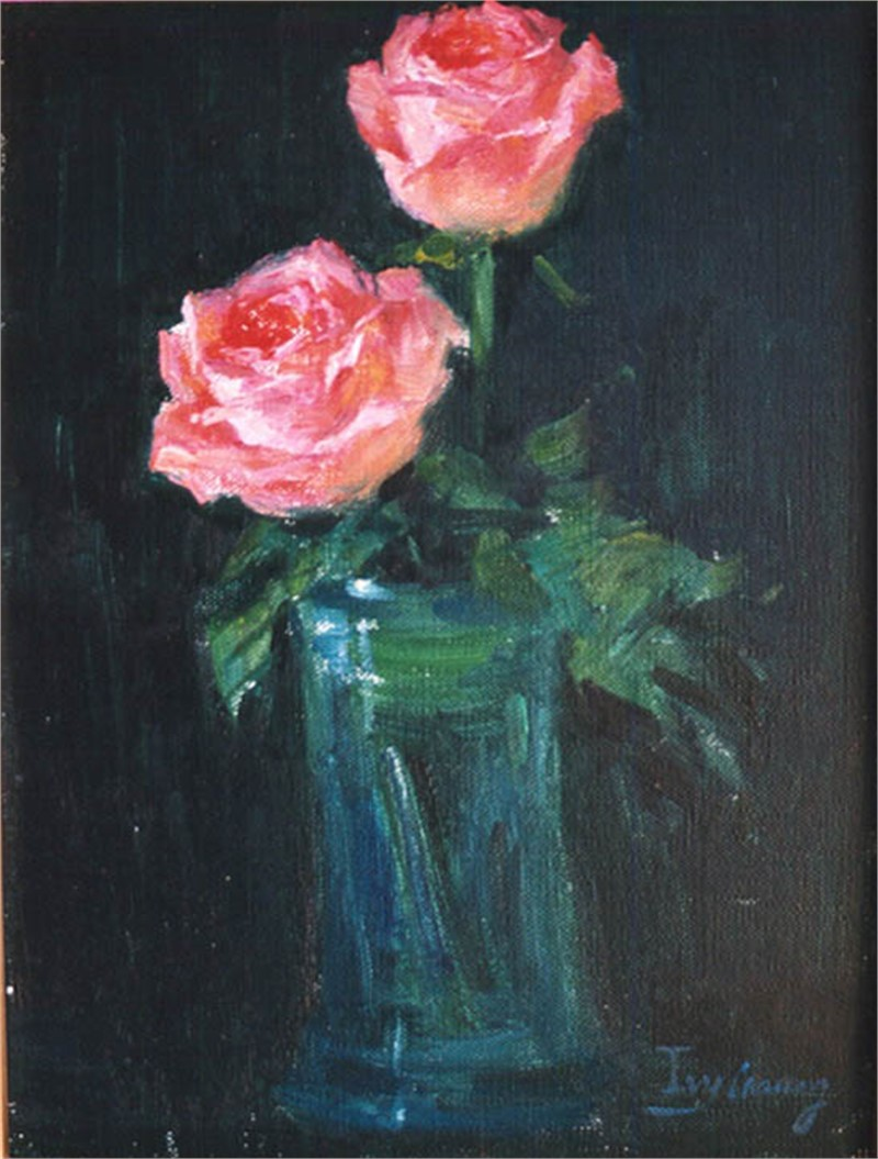 Two Roses, 2019