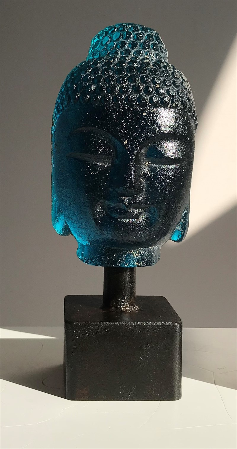 Mini Buddha - Avon Blue , 2019