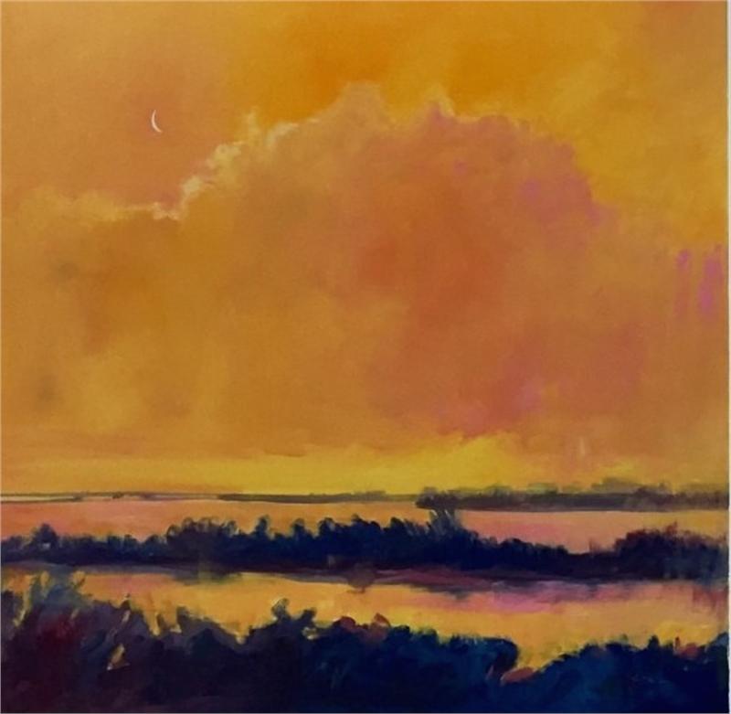 Tangerine Sky I