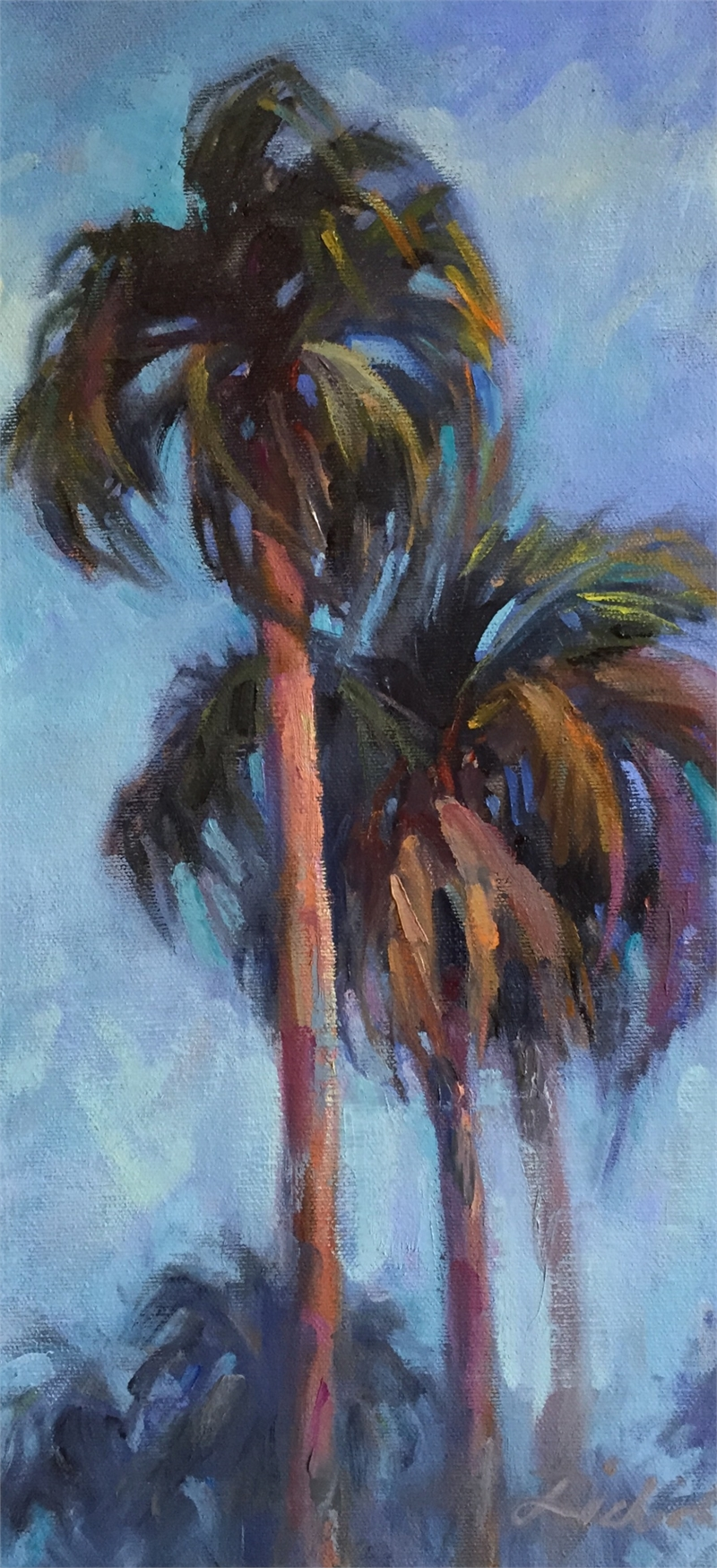 Three Palms, 2019