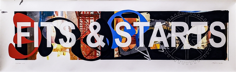 Fits & Starts (1/1), 2019