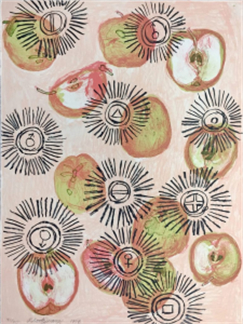 Apple Oil I (59/60), 1998