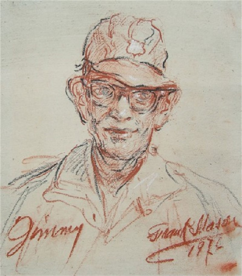 Jimmy, Study for Little Italy, 1976