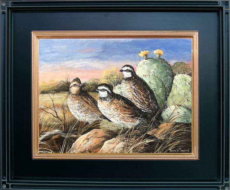 Cool Spring Morning (Bobwhite quail), 2017