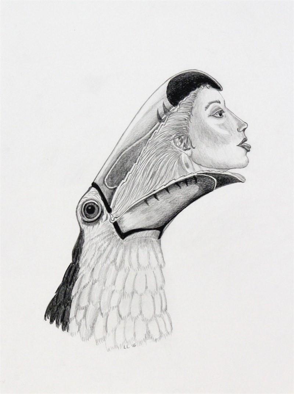 Toucan/Girl, 2016