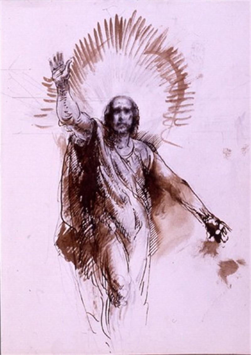 Christ Raising Lazarus, 1995
