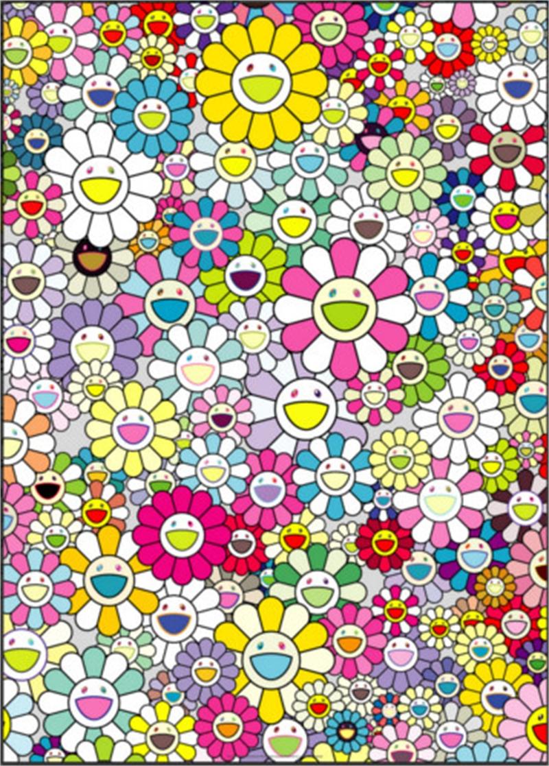 Shangri-La Shangri-La Multicolor by Takashi Murakami