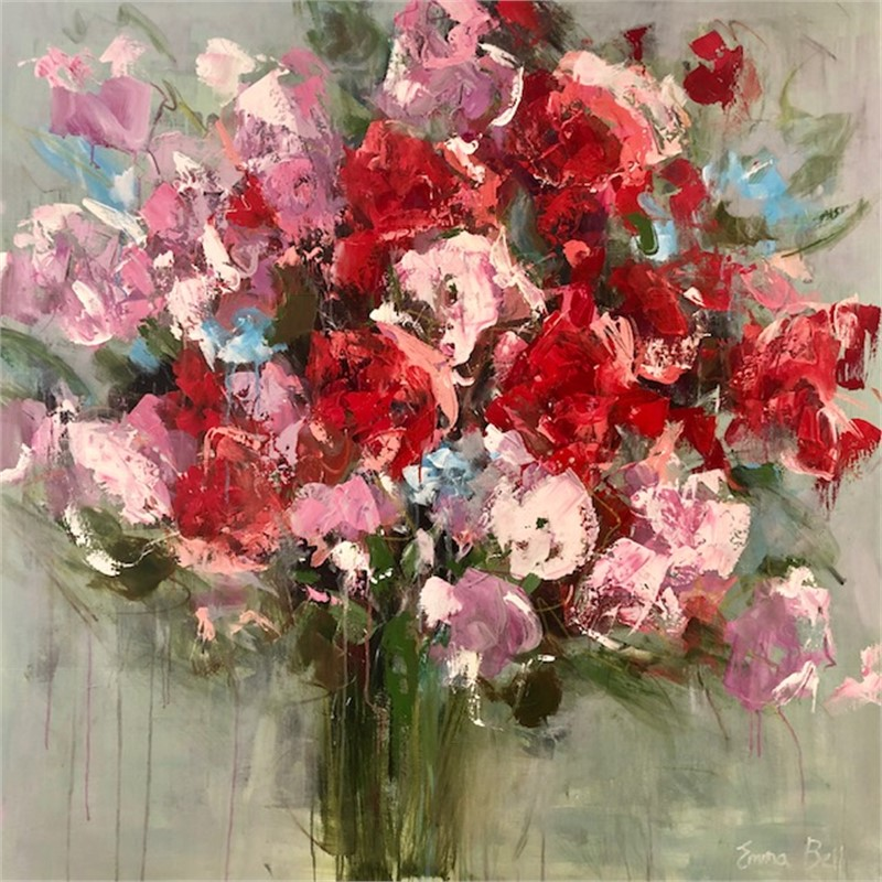 Red Flowers, 2018