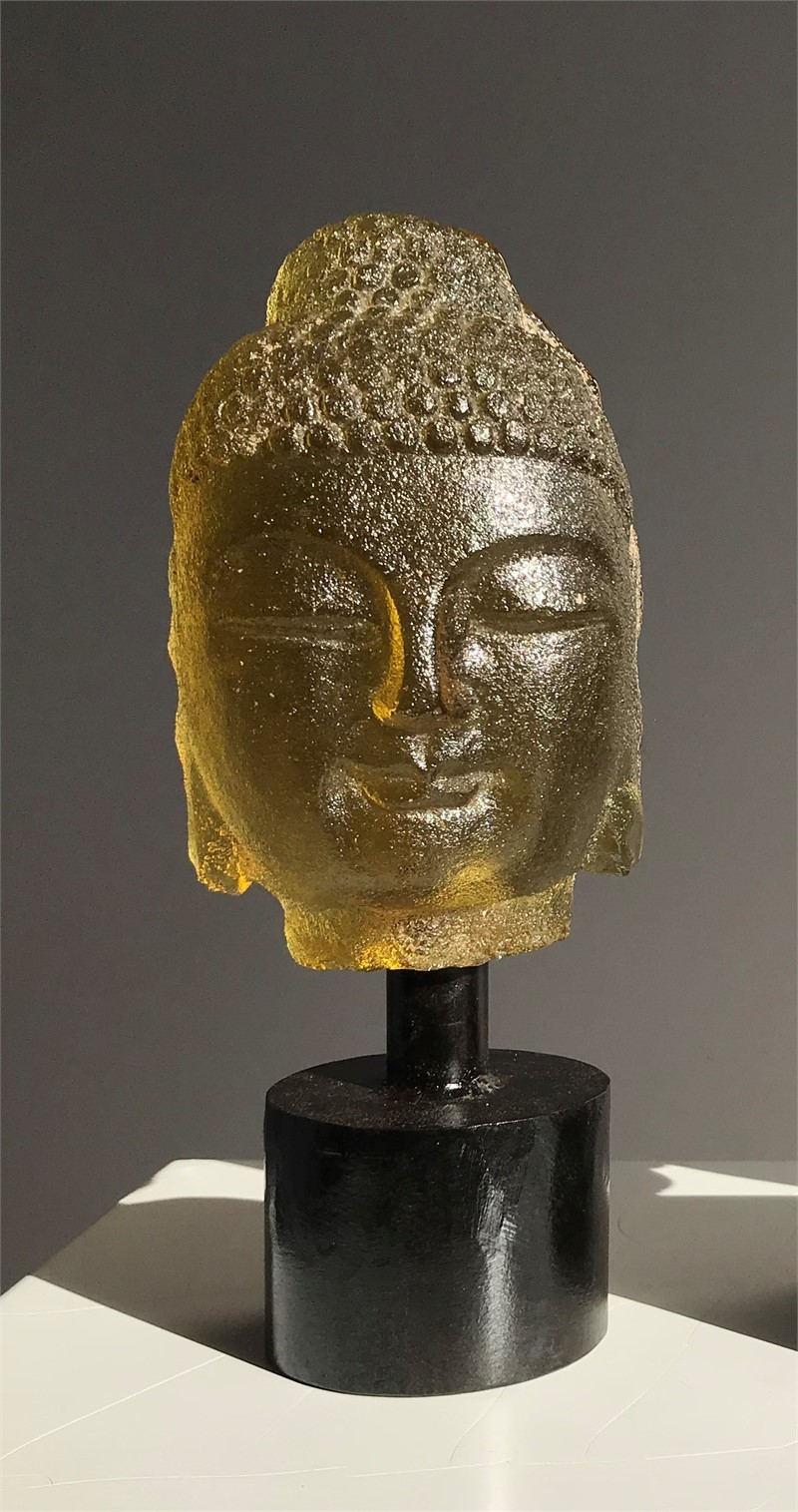 Mini Buddha - Gold , 2019