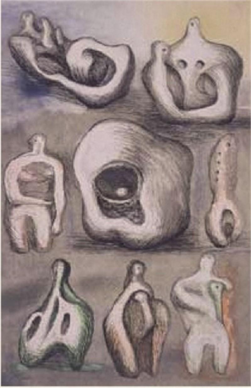 Eight Sculptural Studies (1/50), 1980