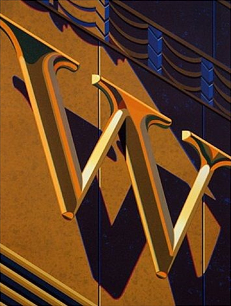 An American Alphabet: W (1/40), 2010