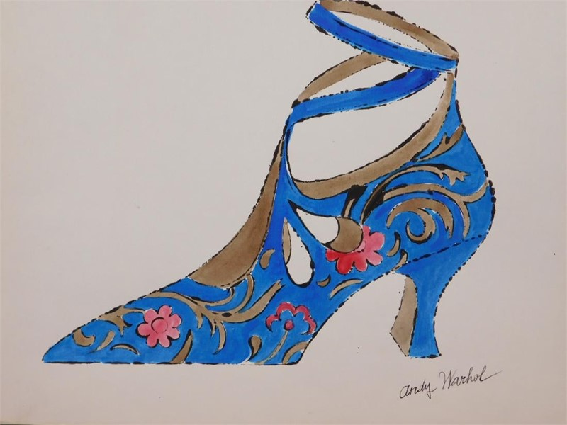 Blue Shoe, circa 1950's