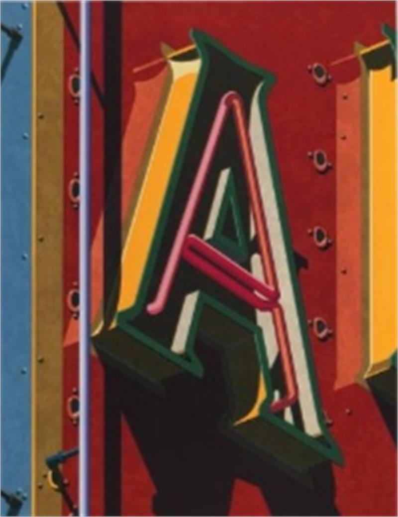 An American Alphabet: A (1/40), 2001