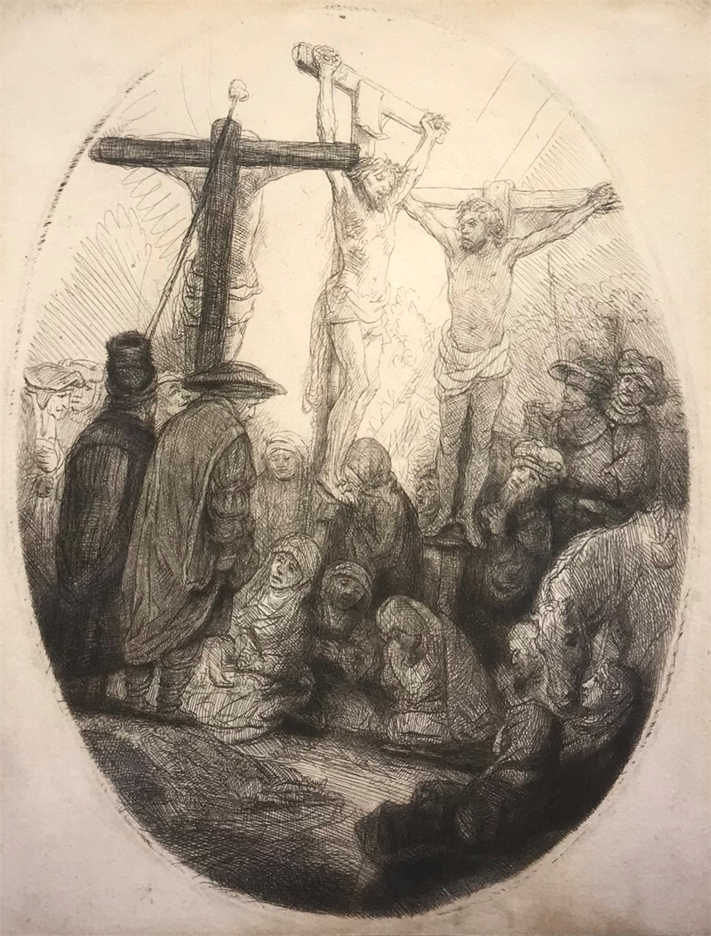 Christ Crucified Between Two Thieves, 1641