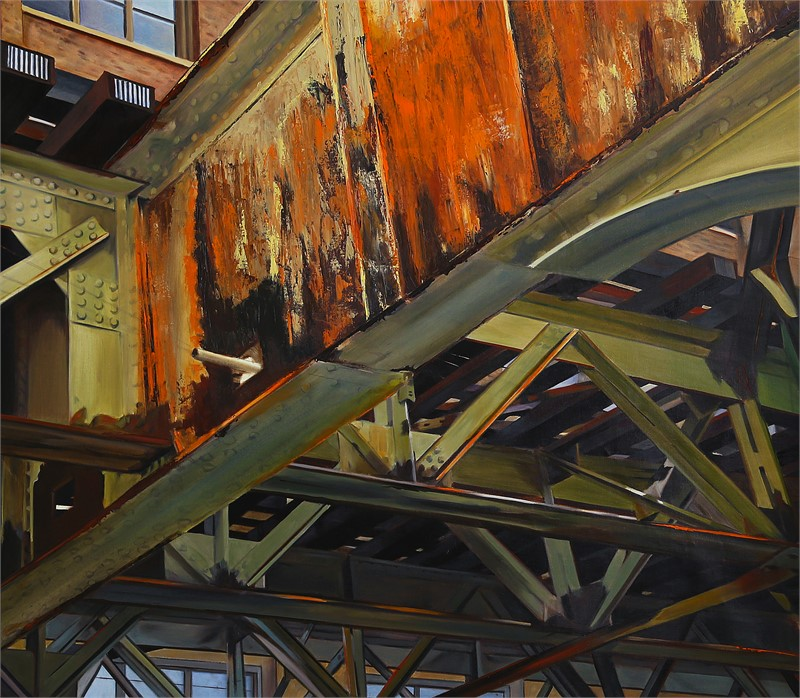 Old Rust on the Brown Line, 2016