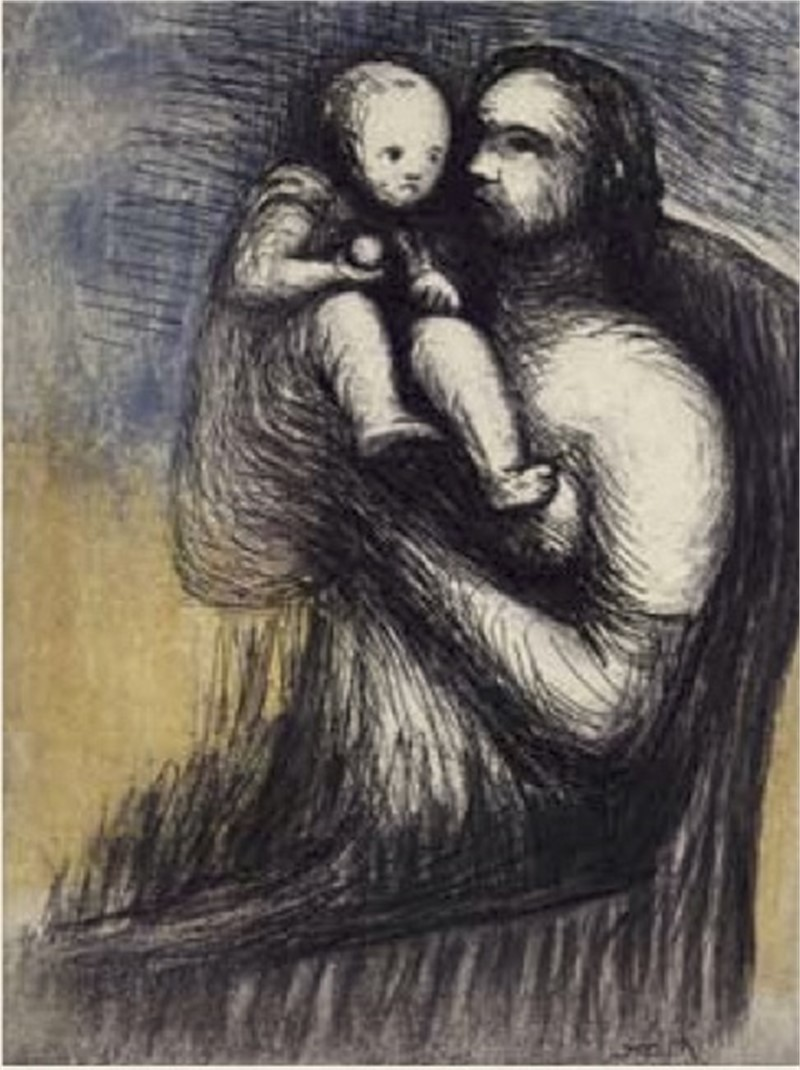 Mother and Child XXV (1/65), 1983