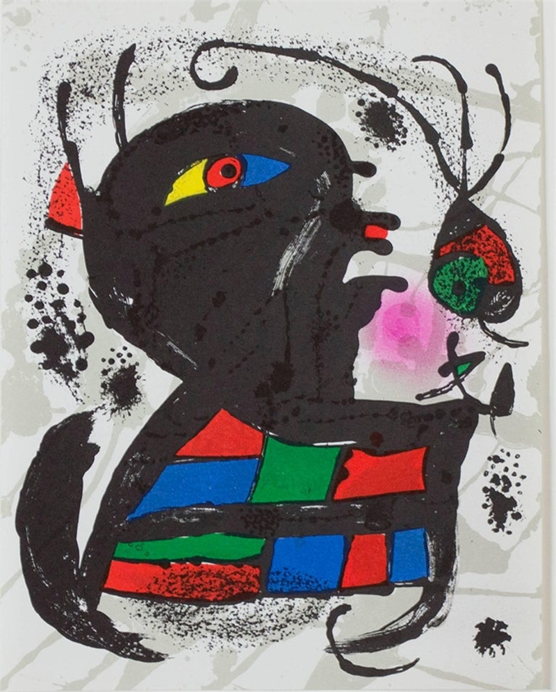 Lithograph V, from Miro Lithographs III, 1972