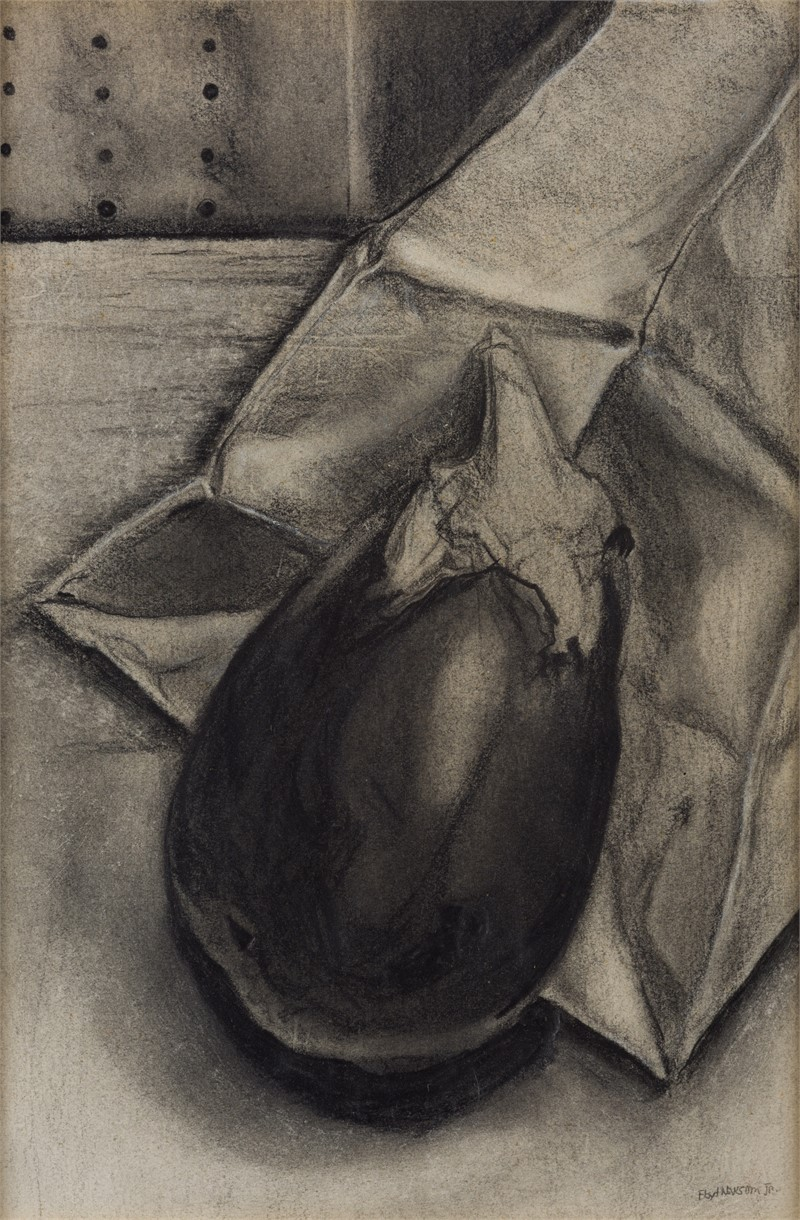 Eggplant and Paper Bag, 1975
