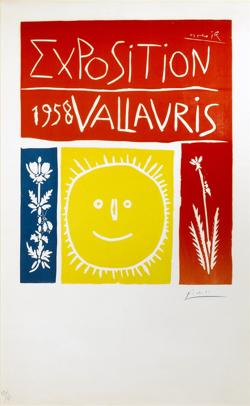 Vallauris 1958 Exposition (175/101), 1958