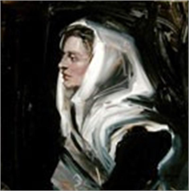 The White Shawl by Frank Mason