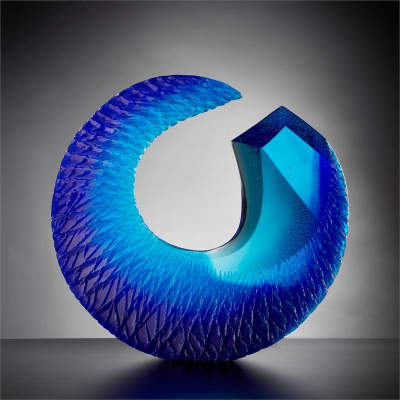 Blue Crystal by Alex Gabriel Bernstein