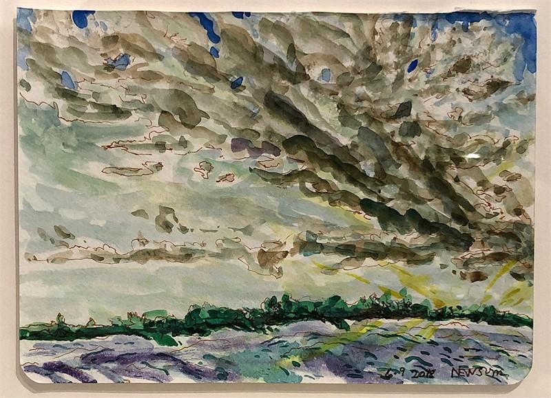 Storm Approaching II, 2018