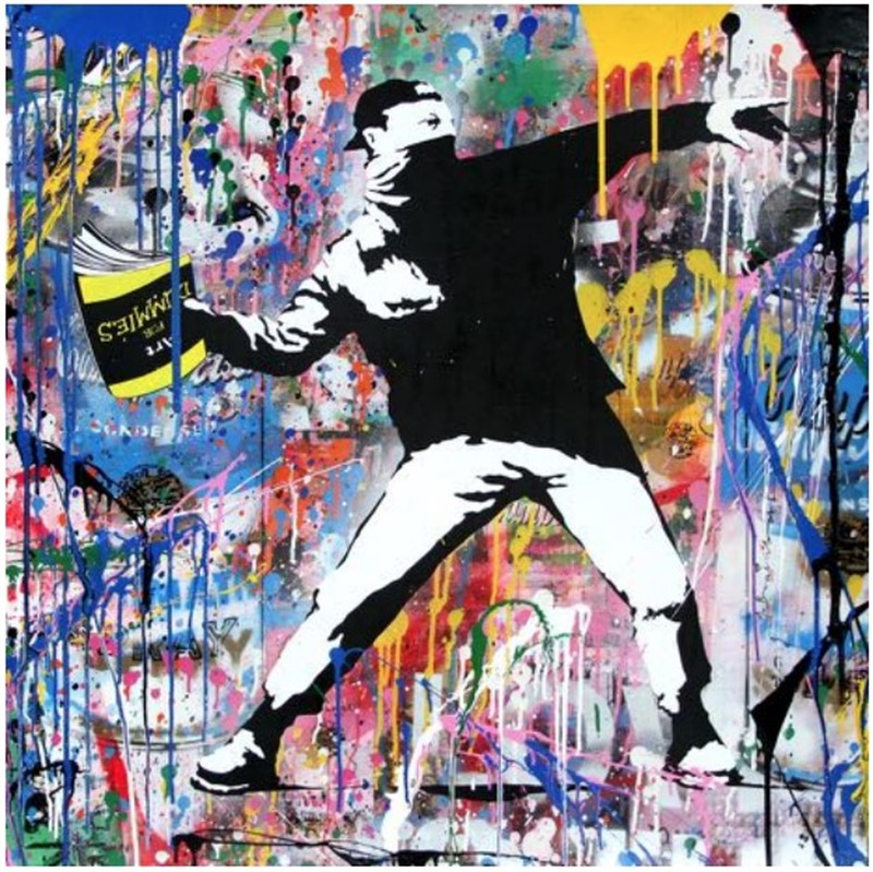 Banksy Thrower, 2018