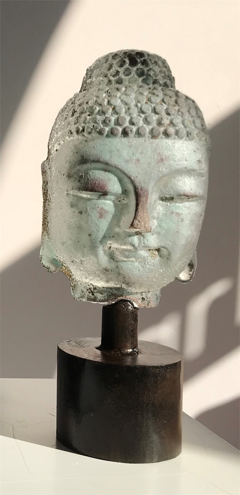 Mini Buddha - Celadon , 2019