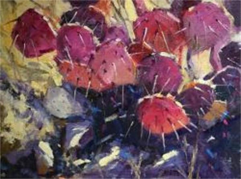 Cactus In Pink