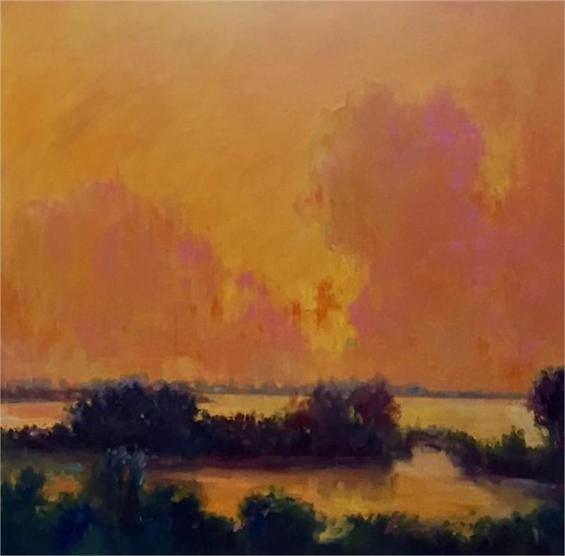 Tangerine Sky II