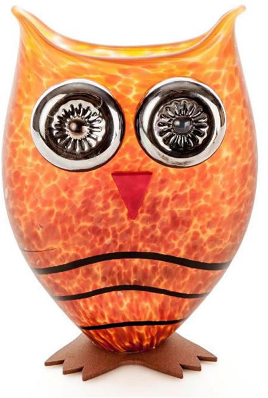 OWL Vase Amber, 2019
