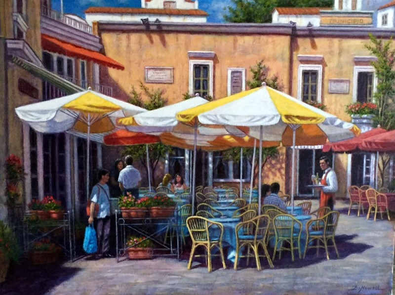 Lunch in Capri