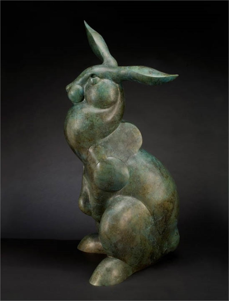 Hare Raising (Edition of /8), 2019