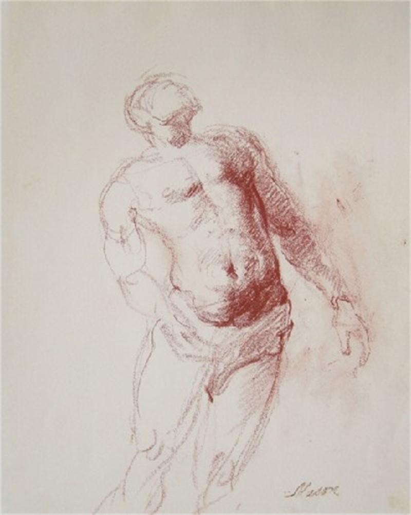 Hunter, Study of Dancer by Frank Mason