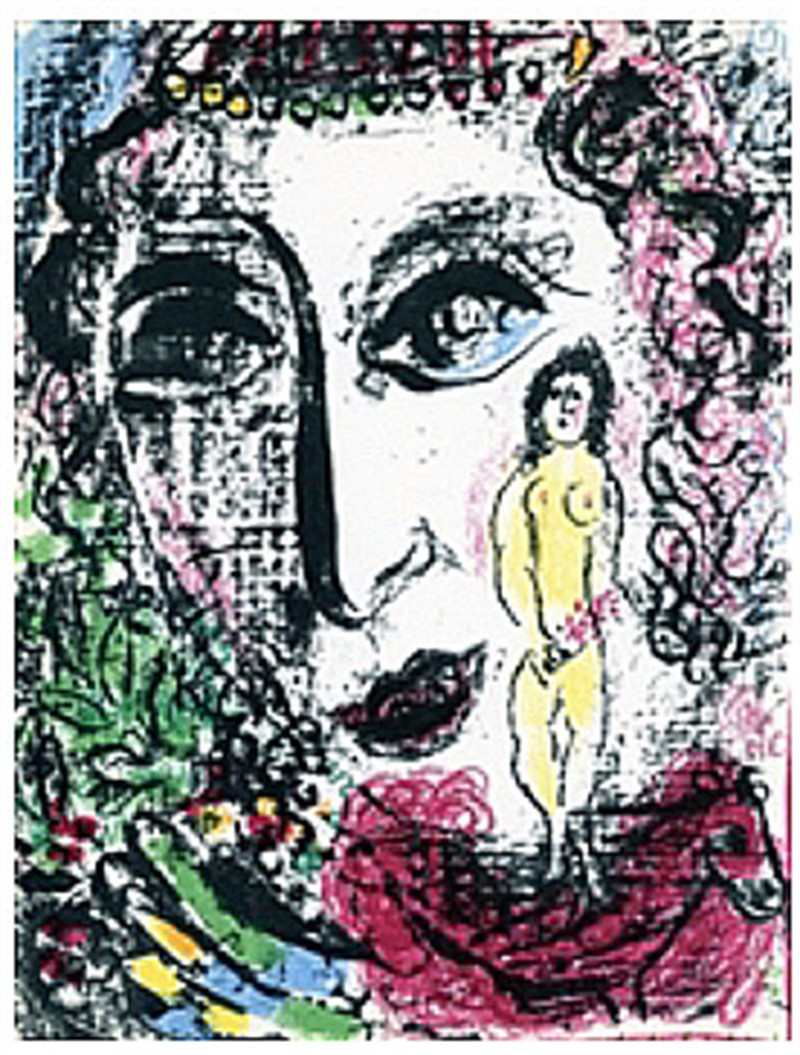 Apparition at the Circus from Chagall Lithographs I, 1960
