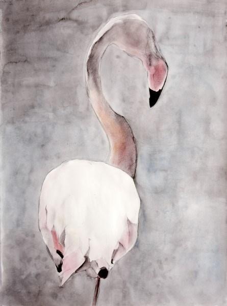 """Camargue Flamingo """"Balancing Act 2"""""""