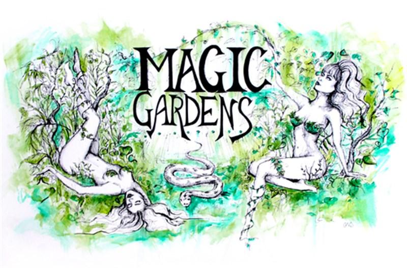 """Green Gardens"" by Chelsea Violet Javier"