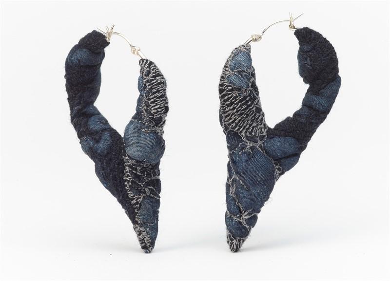 Lisa Klakulak- Felt Jewelry- Form and Concept Gallery- Santa Fe New Mexico