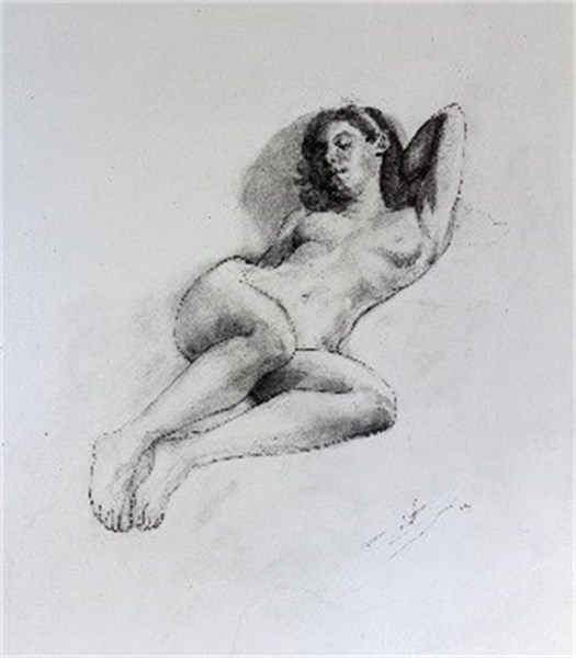 Study for Reclining Nude