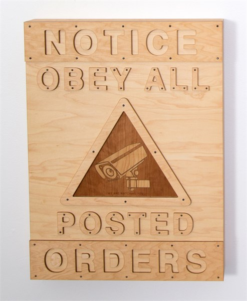 Street Sign: Obey All Orders