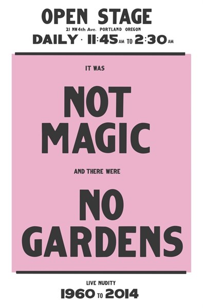 """Not Magic No Gardens"" by Chris Larson"