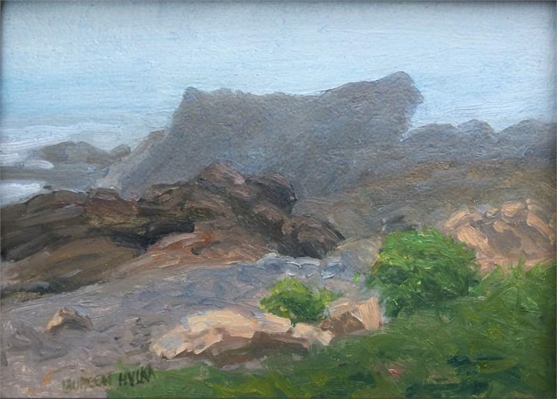 Fog Along Bass Rocks