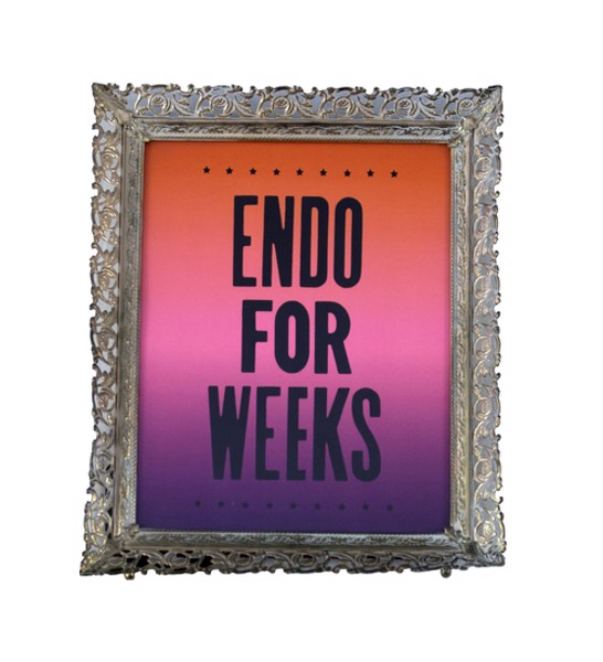 """Endo For Weeks"" by Jesse Hectic"