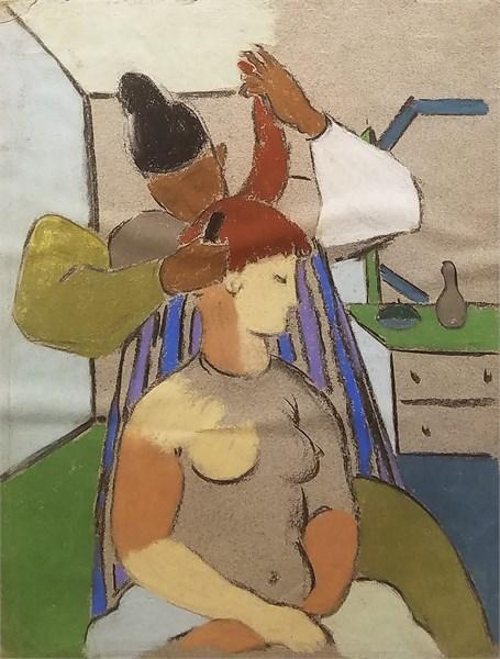 Two Women, c. 1928