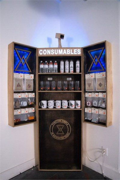 Function Consumables Kiosk