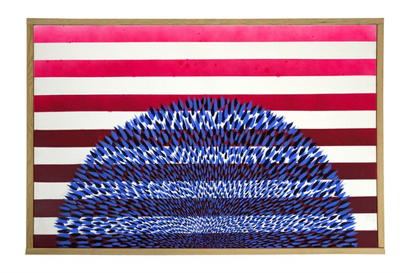 """Stroking It with Betsy Ross"" by Nate VanHook"