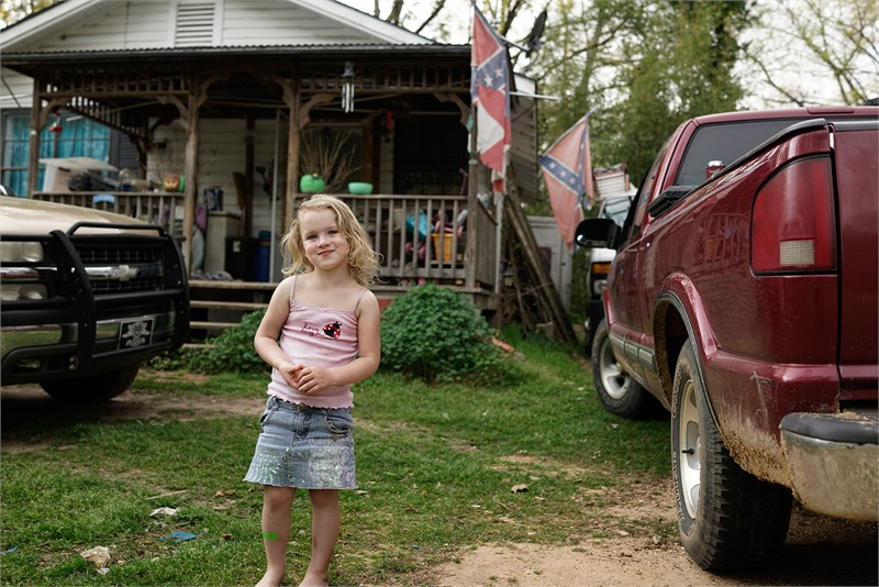 Love Bug & Rebel Flag, Dallas County, AL